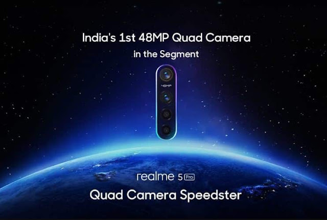 Realme 5, Realme 5 Pro Launch Date on August 20 with 48-Megapixel Quad Camera