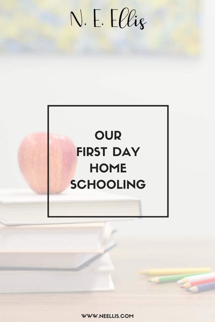 Our First Day Of Home Schooling | We're taking our first steps on an interesting journey.