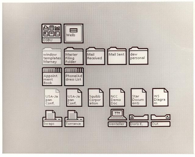 Xerox Star UI