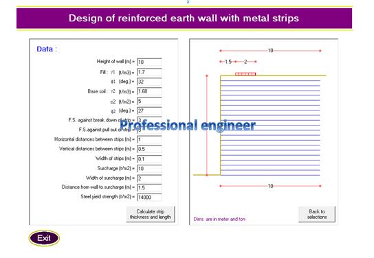 important programs for design structural elements