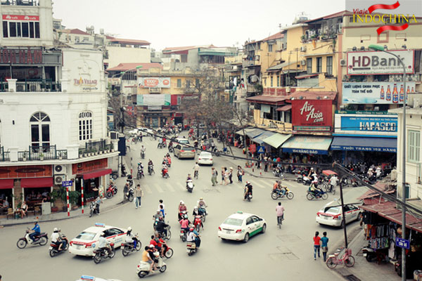 viajes vietnam - Centro de Hanoi