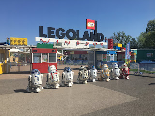 UK R2D2 Builders Club - May the 4th LegoLand 2018