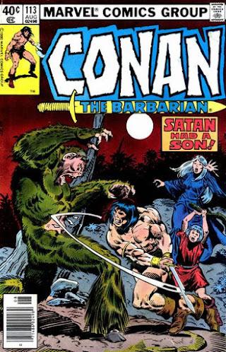 Conan the Barbarian #113, Satan had a Son