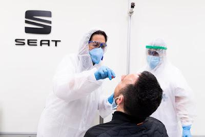 SEAT realizará test PCR a los 15.000 empleados para su reincorporación laboral.