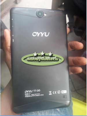 OYYU T7 3G (MT6580) FIRMWARE FLASH FILE FACTORY SIGNED WORK & TESTED