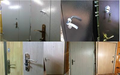 ламинатная панель на двери