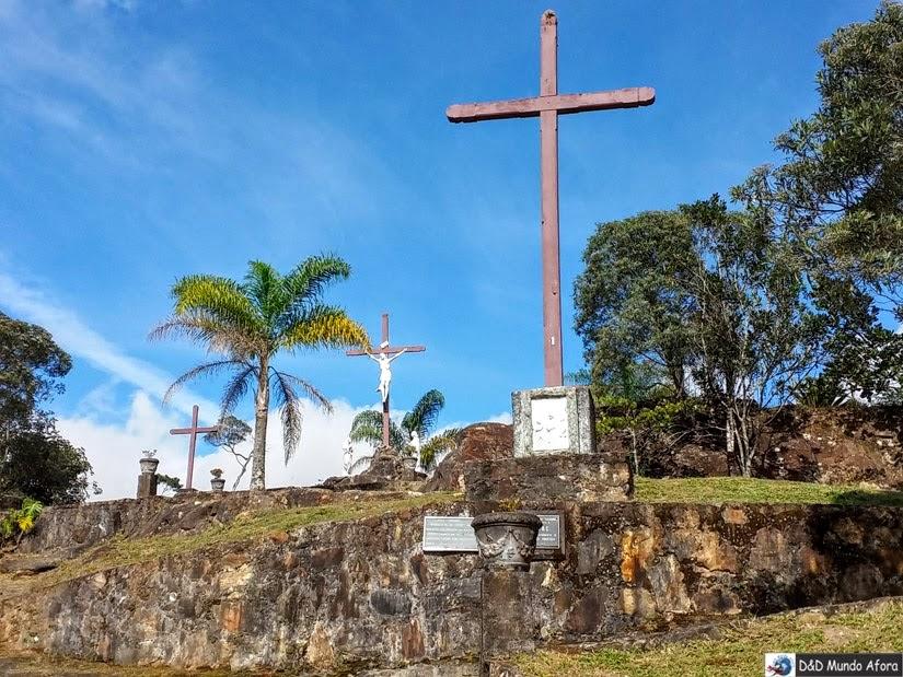 Calvário no Santuário do Caraça - O que fazer em Catas Altas, Minas Gerais