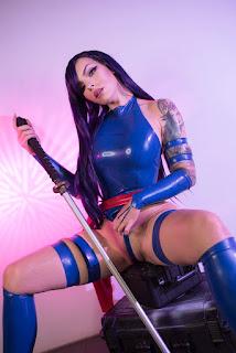 katyuska moonfox sexy topless psylock cosplay 03