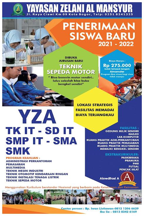 YZA Bogor Brosur