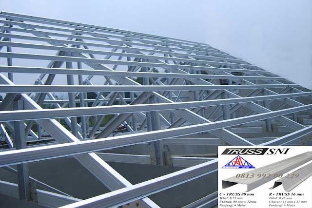 rangka baja ringan untuk atap asbes