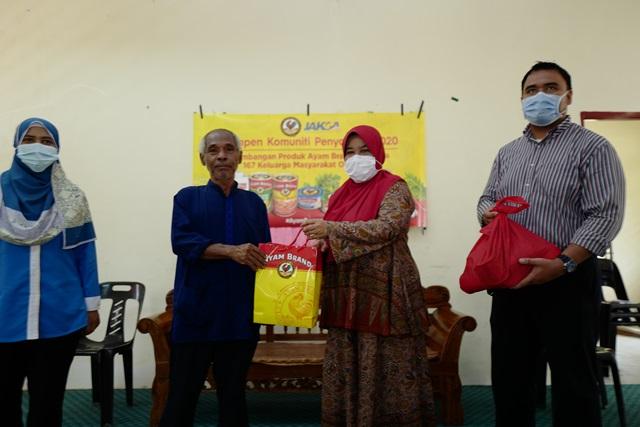 Ayam Brand & JAKOA Bantu Komuniti di Kampung orang Asli Changkat Bintang, Selangor