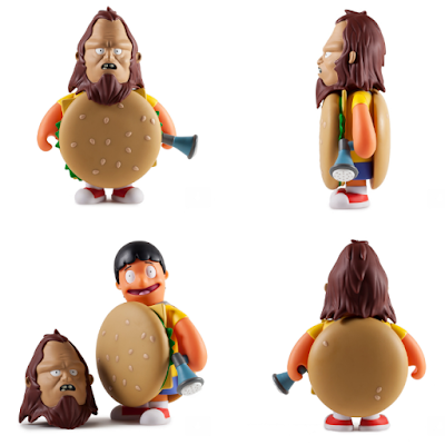 "Bob's Burgers Beefsquatch 7"" Vinyl Figure by Kidrobot x FOX"
