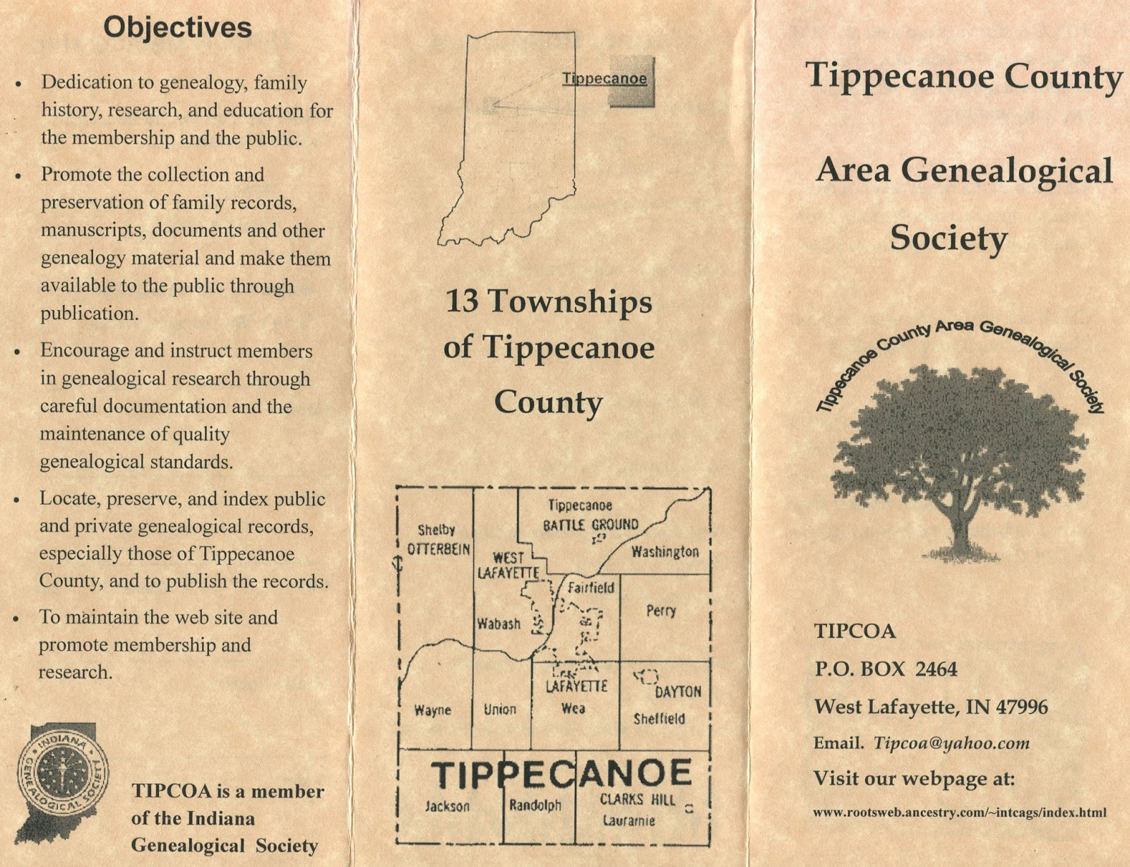 Indiana marshall county tippecanoe -  Or Archive Have Indiana Related Genealogical Materials That Need Digitizing Consider Applying To The Igs Genealogy Digitization Project Which Awards A