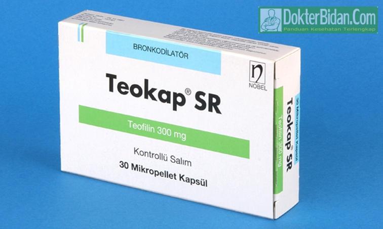 Teofilin 300 mg Obat Gangguan Pernafasan - Fungsi Dosis Dan Bahaya Efek Sampingnya