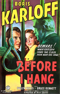 Poster - Before I Hang (1940)