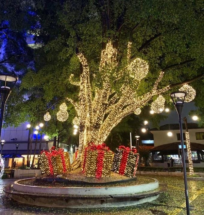 Shopping inaugura decoração de Natal com Papai Noel em realidade aumentada
