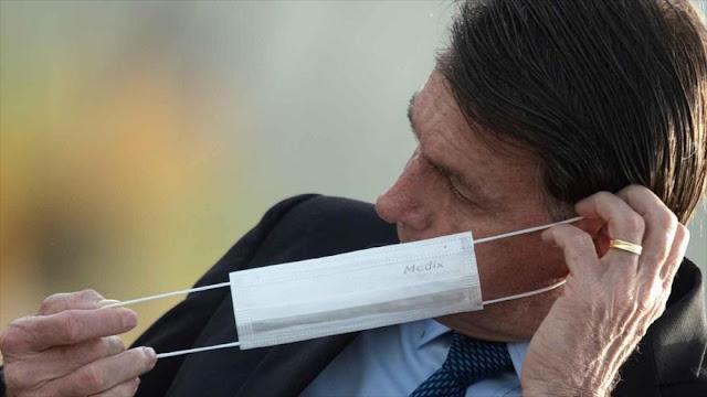 Periodistas demandarán a Bolsonaro por exponerles ante COVID-19