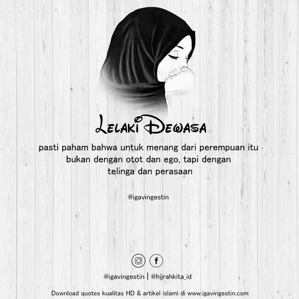kumpulan quotes keren tentang wanita muslimah iga vingestin