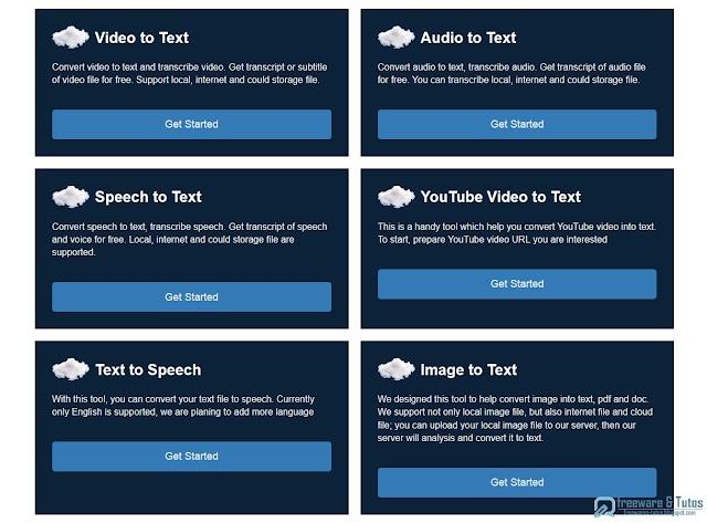 360Converter : un outil pour transcrire des fichiers vidéo, audio et vocaux en texte