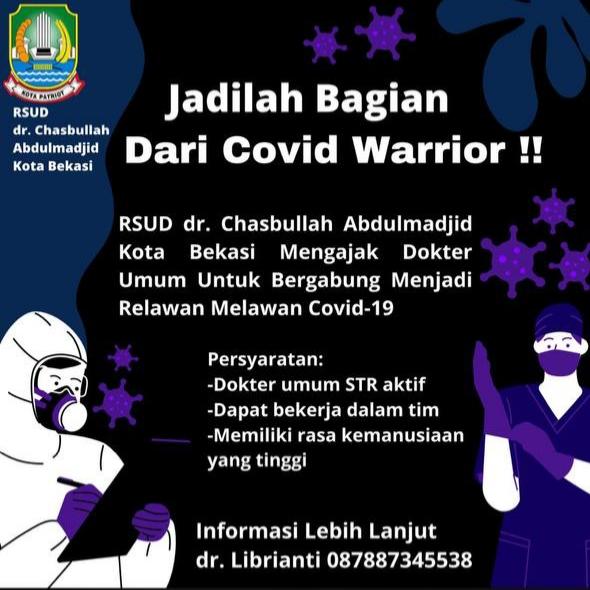 Loker Dokter RSUD dr. Chasbullah Abdulmadjid Kota Bekasi