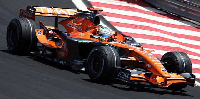 Gambar Mobil Balap F1 Spyker 02