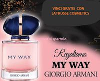 Vinci gratis il profumo My Way di Giorgio Armani