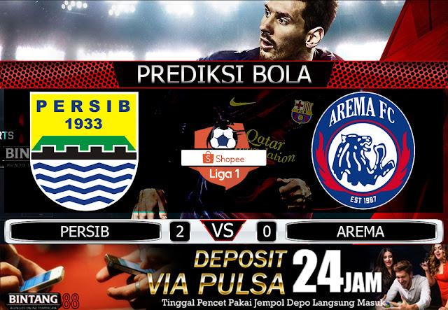 PREDIKSI BOLA   DEPOSIT PULSA IDN - Pada hari Selasa, 12 November 2019 pukul 15:30 waktu indonesia barat akan di adakan laga pertandingan Liga 1 Shopee Indonesia antara Persib Bandung vs Arema FC. Pertandingan ini nantinya akan di laksanakan di Stadion Si Jalak Harupat. Situs IDN Pulsa, Agen Deposit Pulsa, Judi Deposit Pulsa, Situs Agen Pulsa, Tanpa Potongan, Situs Slot Pulsa, Judi Bola Pulsa, Agen Bola Pulsa, Liga Bola Pulsa, Tebak Skor Pulsa, Situs Casino Deposit Pulsa, Situs IDN POKER Deposit Pulsa, Bandar Domino Deposit Pulsa, Judi Online Pulsa, Mix Parlay Hadiah Pulsa, Tebak Skor Hadiah Pulsa, Freechip Hadiah Pulsa, Deposit Via Pulsa Tanpa Potongan, Deposit Pulsa Tanpa Potongan Bintang88.