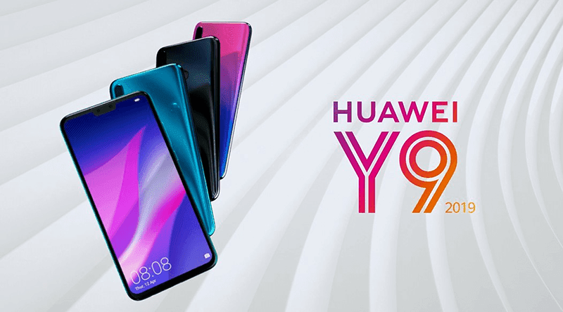 Huawei Y9 2019 with 6.5-inch screen and quad-camera setup is now official
