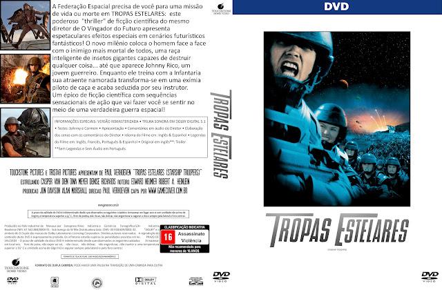 Capa DVD Tropas Estelares [Coleção]