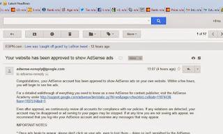 Email Asense Diterima Sepenuhnya