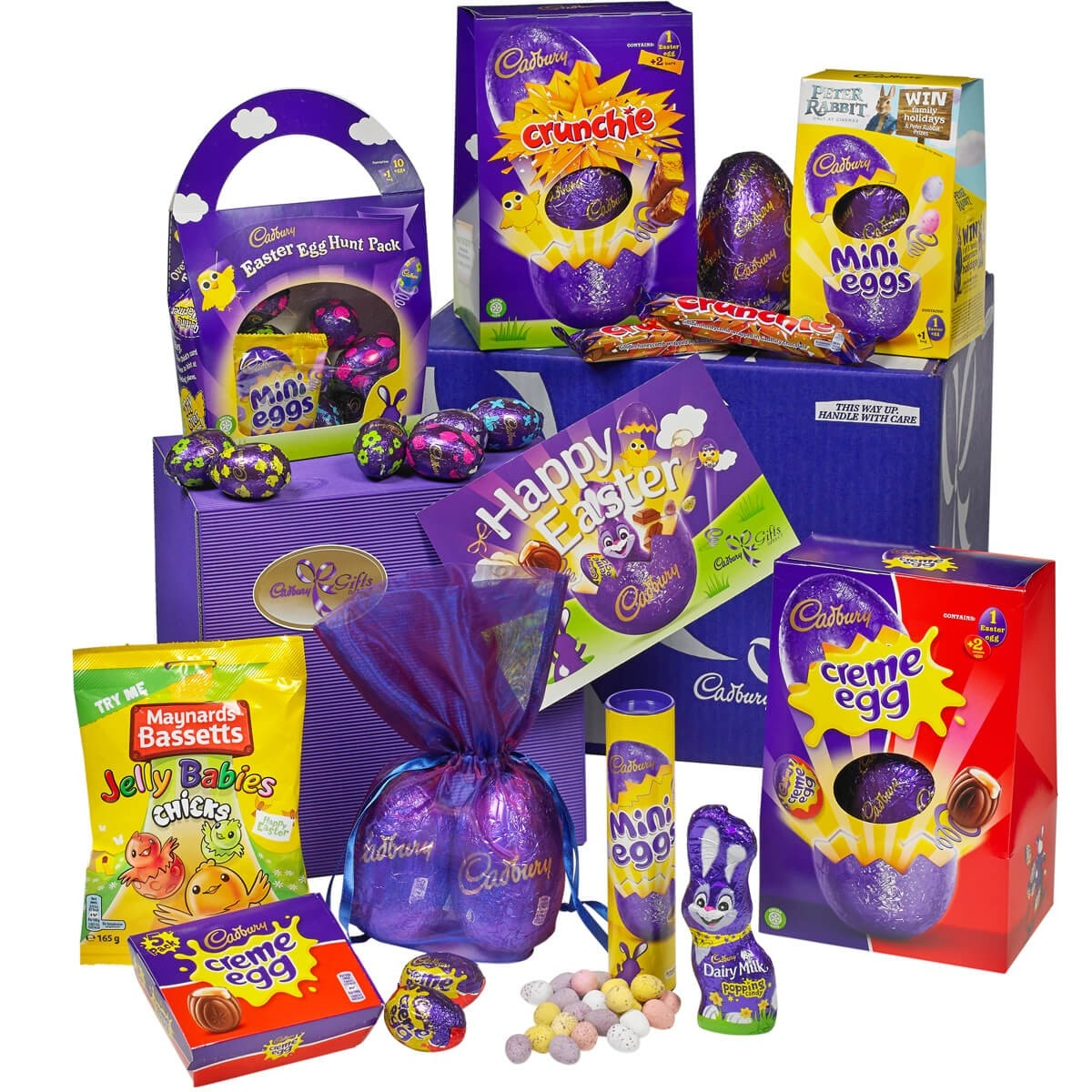 Win easter ended this eggsential easter collection from cadbury gifts direct contains easter eggs from large to small and a host of other delicious chocolate and sweetie negle Image collections