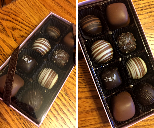 Pease's chocolates are DELICIOUS and make great gifts!