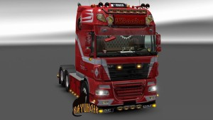 Weeda Skin for DAF XF 105 by Stanley