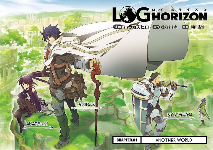 Log Horizon (Episode 01 - 25)  Batch Subtitle Indonesia