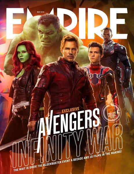 Avengers: Infinity War Hulk - Gamora - Star Lord - Spider-Man - Falcon