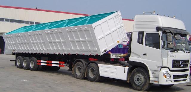 gambar dump truck tronton panjang terbaru