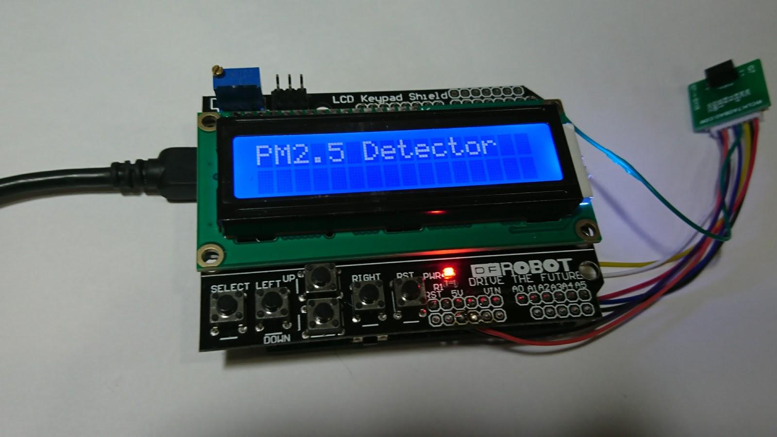Seth C: DIY製作PM2 5空氣偵測器step by step