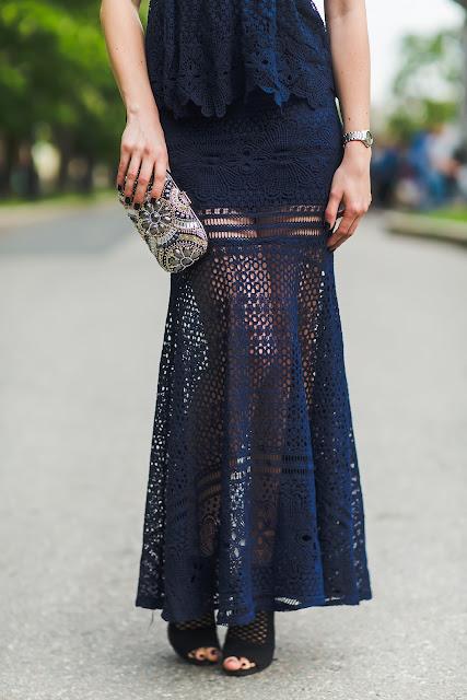 blaues kleid, welche Schuhe?