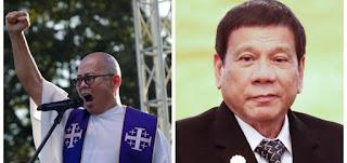 Father Robert Reyes to President Duterte: