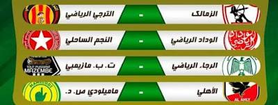 نتائج قرعة ربع النهائي لدوري أبطال أفريقيا 2020