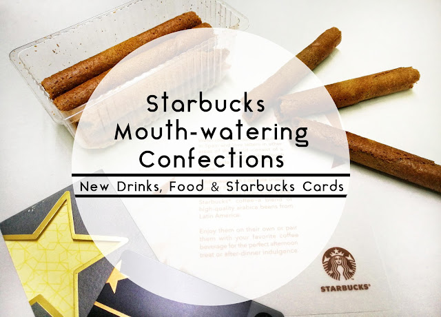 Starbucks 2017 Confections