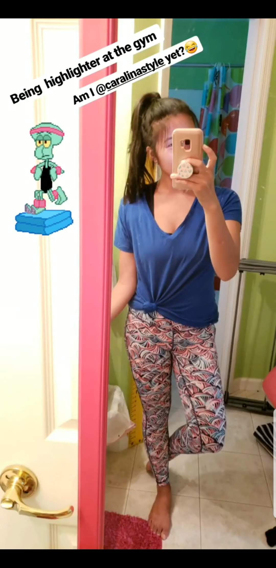 "Lilly Pulitzer Luxletic 26"" Weekender midi leggings"
