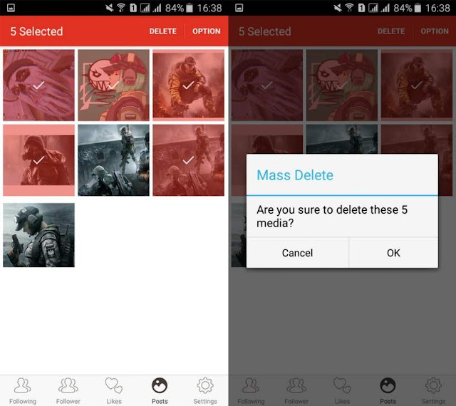 Cara Menghapus Semua Foto di Instagram Secara Cepat
