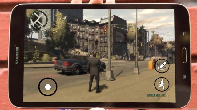 لعبة GTA V للاندرويد برابط واحد على الميديافاير APK+DATA