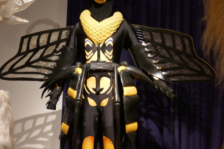 Masked Singer Bee costume detail