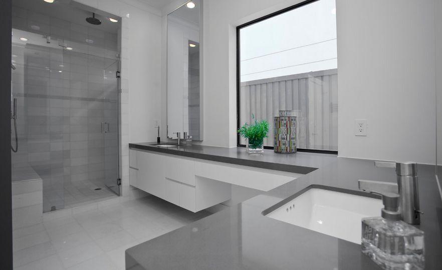 Banheiros Cinza  Design Innova -> Decoracao De Banheiro Pequeno Cinza