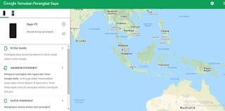 Cara Melacak HP Hilang Dengan GPS 2020 selain itu bisa dilakukan juga dengan menggunakan bantuan website Google Find My Device ini Cara Sederhana Melacak HP Yang Hilang Dengan Mudah