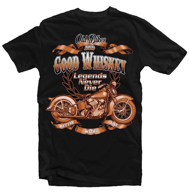 harley davidson tshirt design