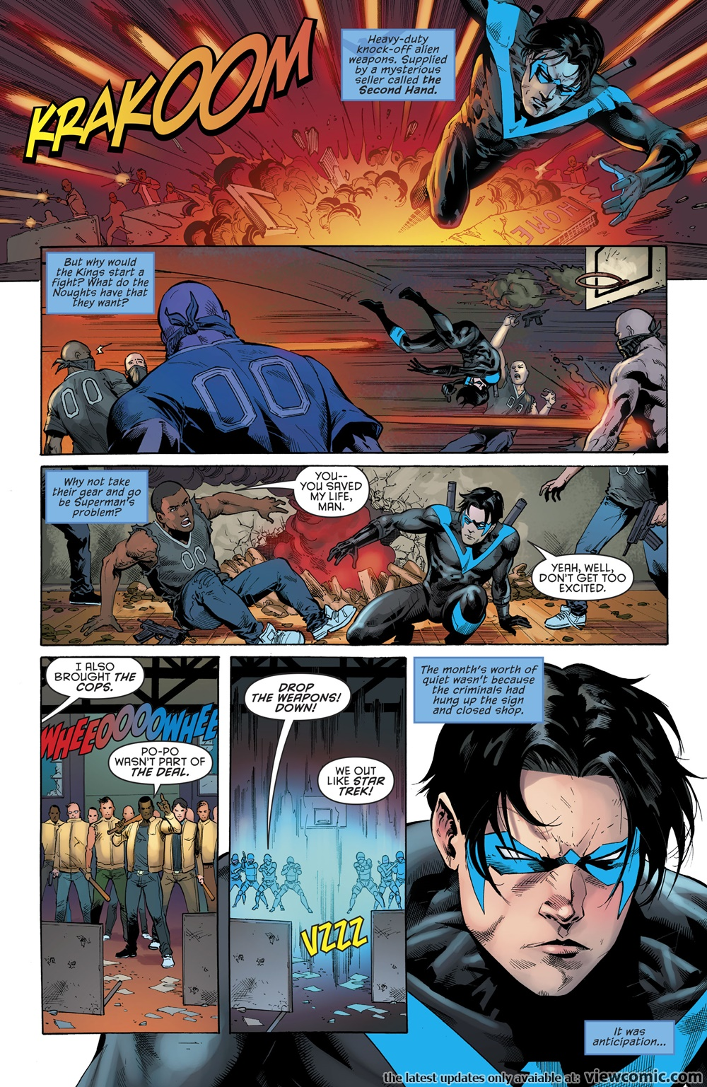 Nightwing v4 022 (2017)  | Vietcomic.net reading comics online for free