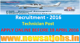 csir+national+aerospace+laboratories+recruitment+2016